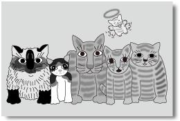 六匹の猫たち